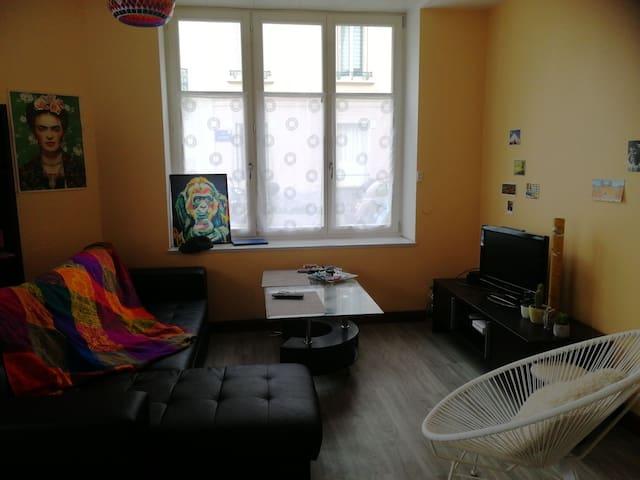 Appartement entier 2 min du parc Pépinière-centre