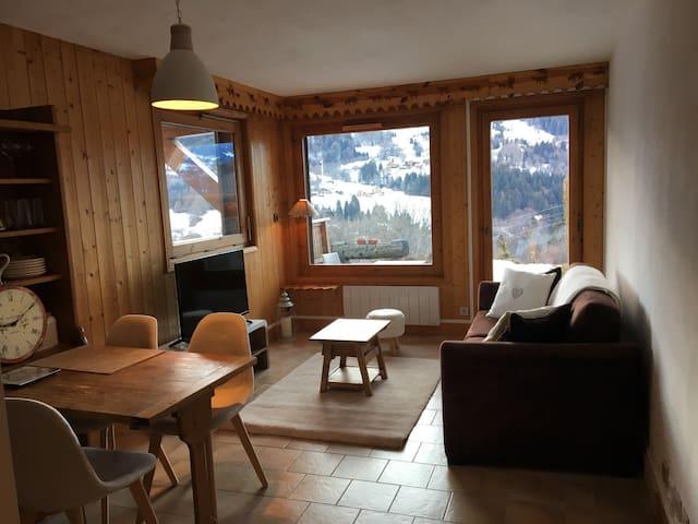 Appartement Megève,vue Mt Blanc - Demi-Quartier - Apartment