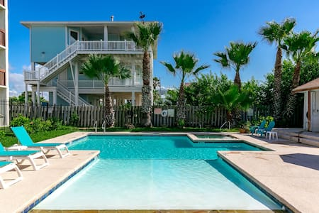 Gulf View Seabreeze Suites Condo in Old Town Port - Port Aransas