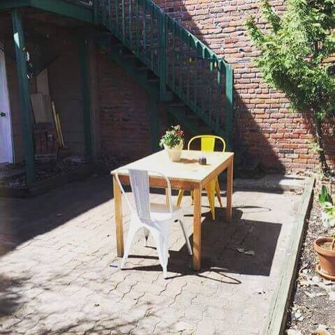 lovely flat with private yard in Le Plateau - Montreal - Pis