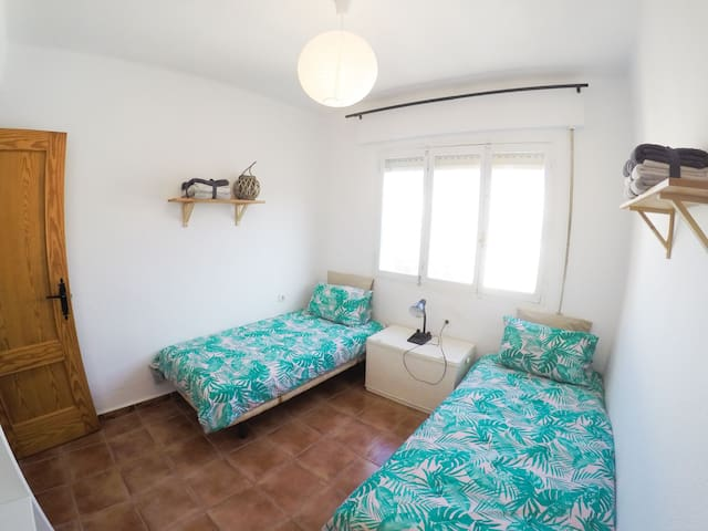 2- Double Room in front of the beach