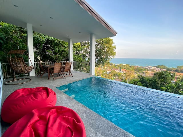 Sea view pool villa Serenity