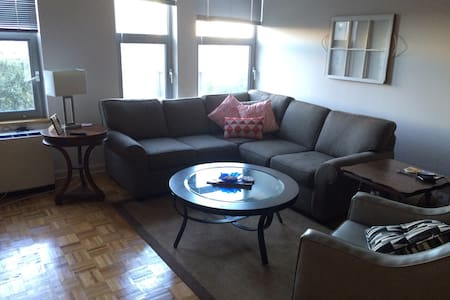 Large, sunny 1bd in heart of downtown Stamford - Stamford - Wohnung