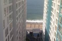 Hermoza vista desde la terraza