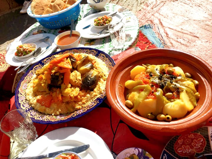 Berber lunch