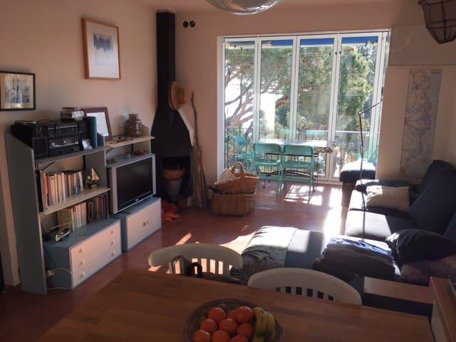 Apartament -Calella de Palafrugell-first sea line - Palafrugell - Ortak mülk