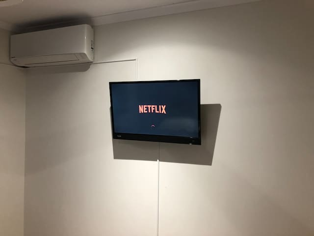 Enjoy a movie or your favourite tv show on Netflix.