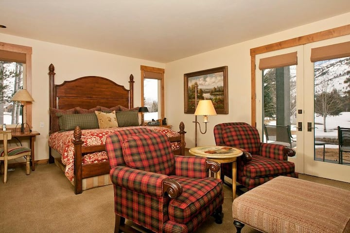 Teton Residence Club 6: Teton Pines **Rare Find** Exquisite 2 Bedroom