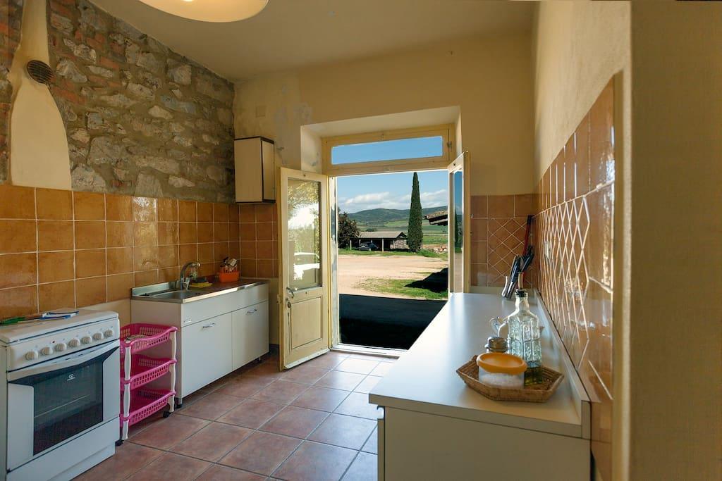 """Jasmina"" kitchen and the farmyard"