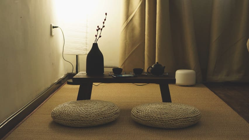 小胖屋,日式家居,宁静舒适;为每一位新房客送上一壶功夫茶(・Д・)ノ - Beijing - Bungalou