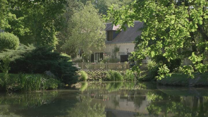 """Moulin de la Follaine - Chambre """"La Lanterne"""""""