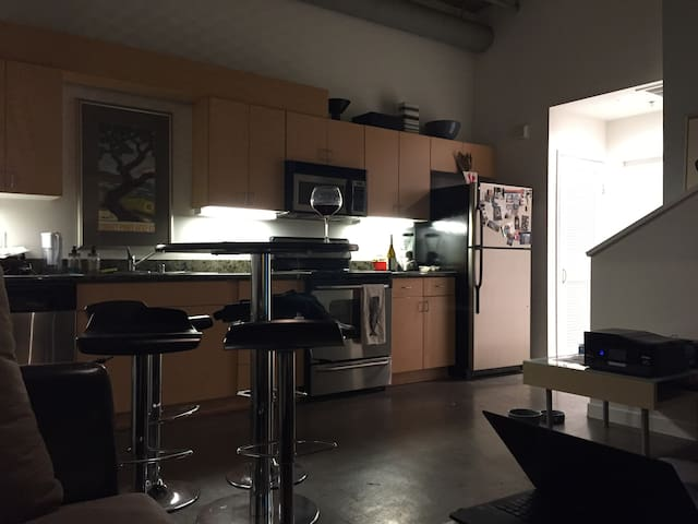 One bedroom loft in Little Italy - San Diego - Apartment