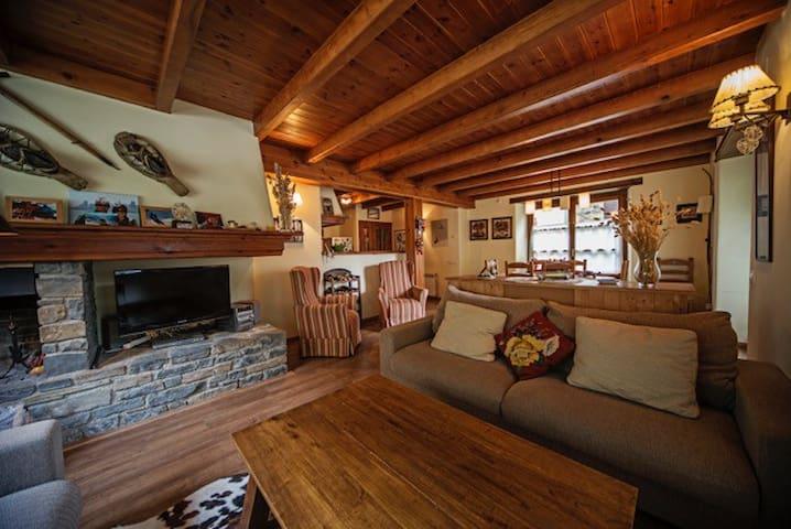 Fantástica casa en el Valle de Arán - Garòs
