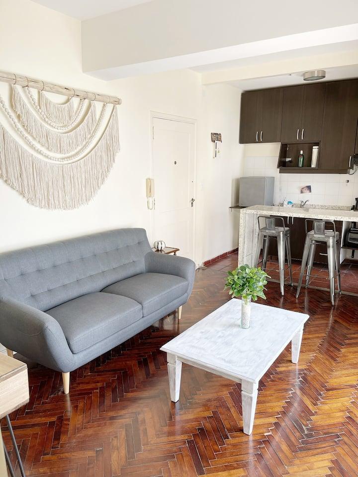 Elegante apartamento en el centro de la ciudad