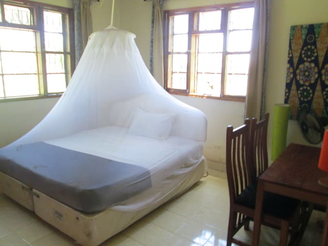 Private double room at Bikeventures House Kisumu