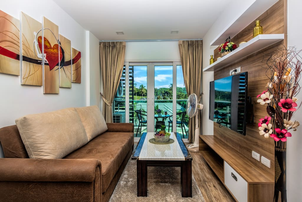 Amazing mountain view 2 bedroom apartment nai harn appartements en r sidence louer tambon for Mountain view 2 bedroom apartments