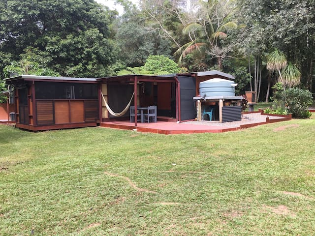 Daintree camp and cabin cabins for rent in diwan for Diwan queensland