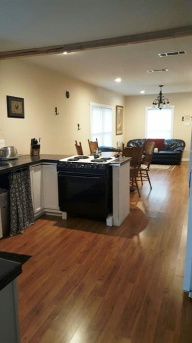 Open Kitchen and 2nd living