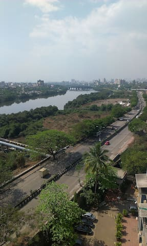 Thane (west), Panoramic view,  Entire 1 BHK Flat