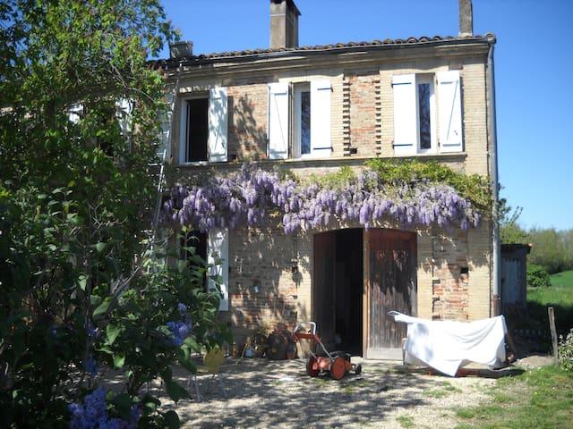 chambres indépendantes dans maison de caractère - Savenès - Hus