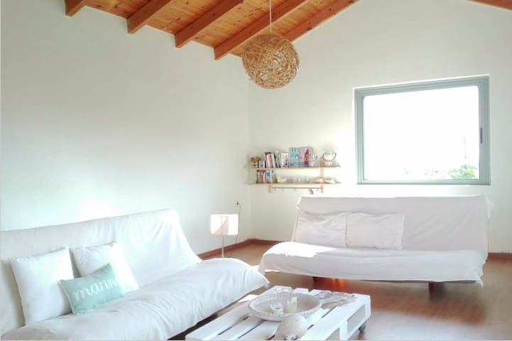 Modern-Relaxing Maisonette b/w sea and mountains - Plaka - Leilighet