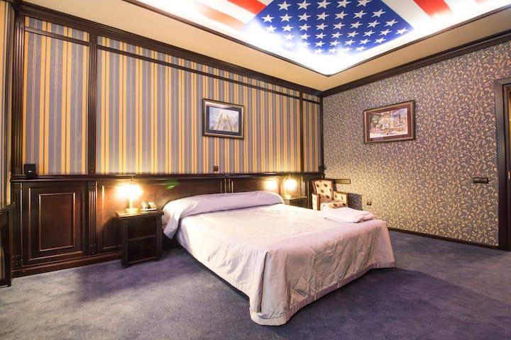 """Бизнес отель """"Reikartz Атташе Kyiv"""" ,одна  кровать"""