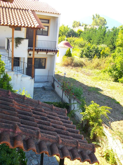 Two floor apartment on the north evia 2 apartments for for Two floor apartment