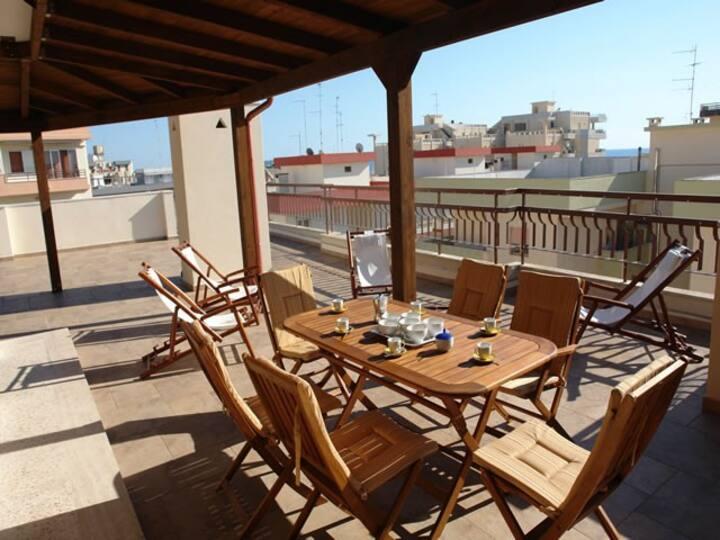 Attico panoramico Lido San Giovanni, Gallipoli