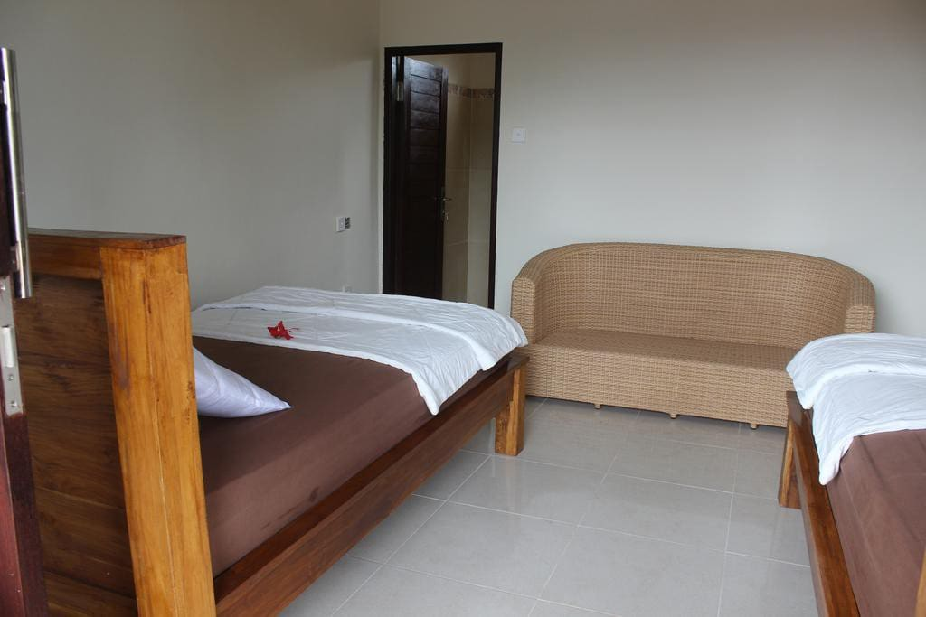 Twin single bed option