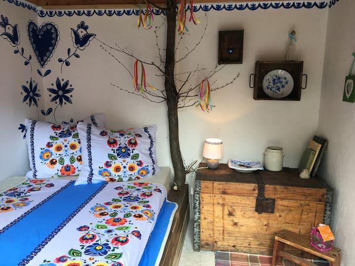 Folklórna chyža / Traditional folk hut