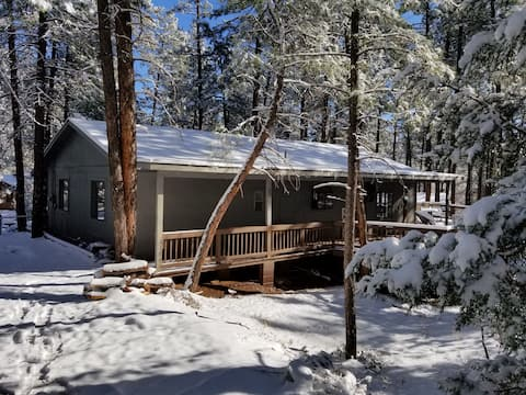 Simply Amazing....Remodeled Cabin w/Massive Deck