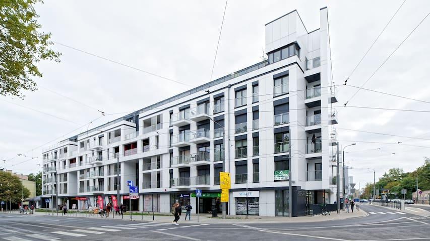 APARTAMENT  BUSINESS  w centrum Poznania+parking