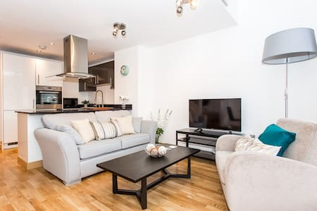 Stunning Luxury Apartment in Central Southend - Southend-on-Sea - Departamento