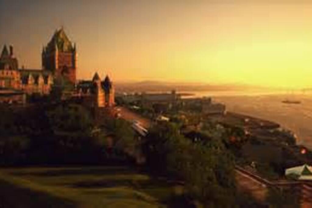 Super view of Québec City, just a few minutes away.