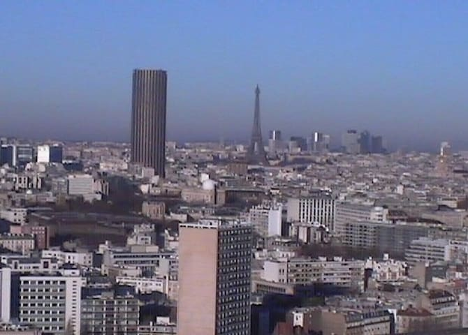 Chambre 10 m² vue sur Paris. - Paris - Apartment