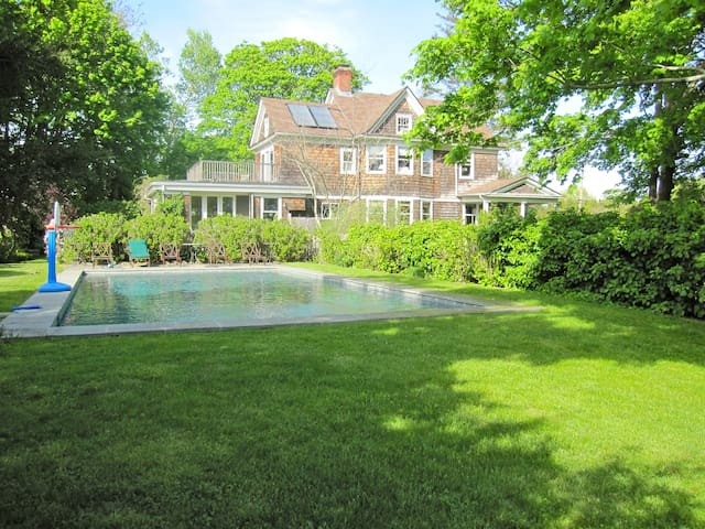 The Maples. Renovated 1911 Farmhouse.  Water Mill