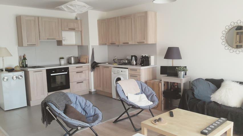 Appartement très calme Bordeaux Bastide - Bordeaux - Appartement en résidence
