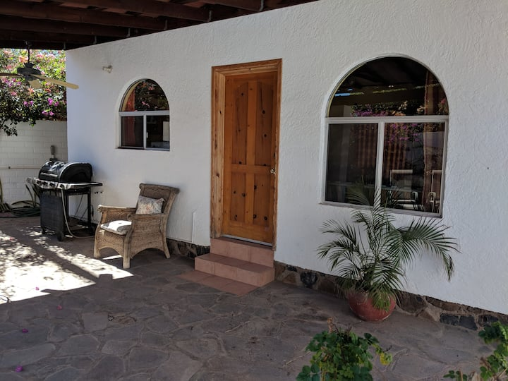 Charming Casita, near river, beaches, village