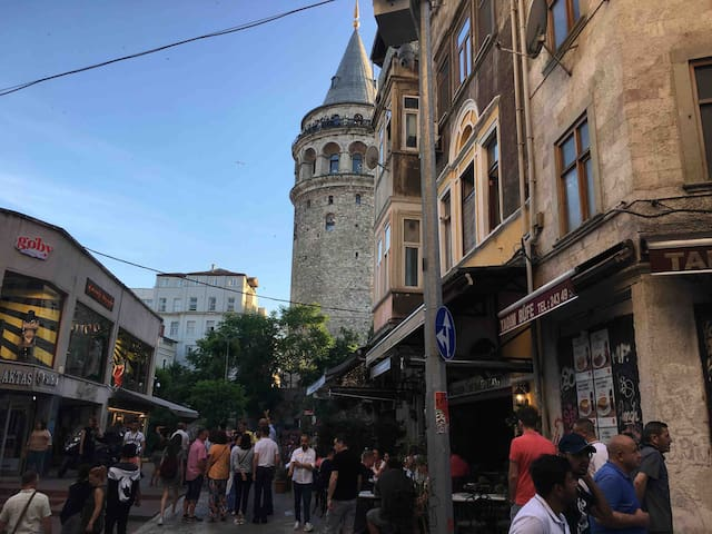 Galata Tower (30m) Super Location Taksim