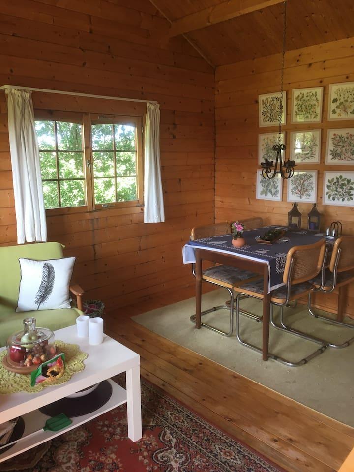 Heden 21 - Piv hyggelig bjælke hytte