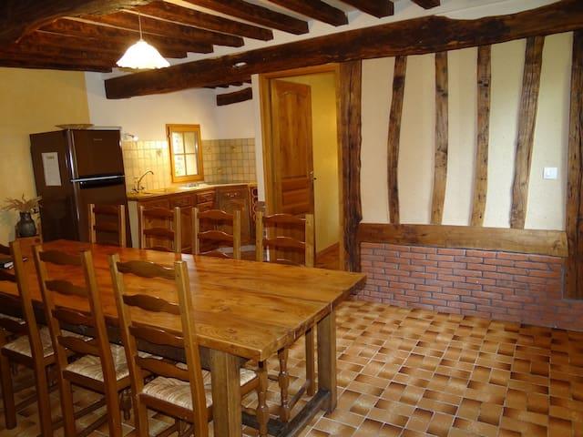 Maison Normande Du Nouveau Monde - Hautot-l'Auvray - Rumah