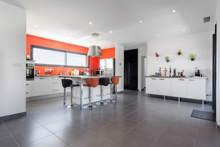 Maison récente 4 ch, grand jardin - Castelnau-d'Estrétefonds - Hus