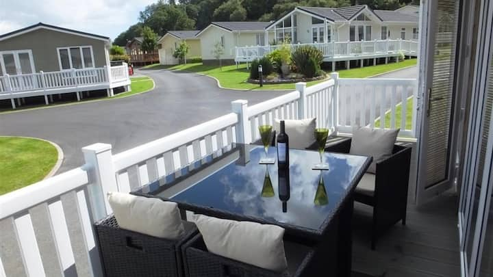 4 Person Lodge on Idyllic Family Holiday Park