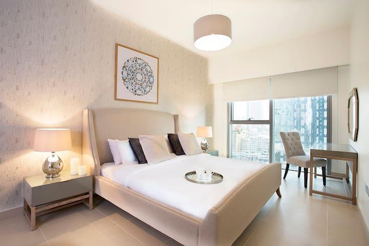 Luxurious double bedroom
