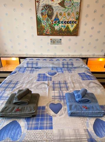 Camera da letto n°1 con letto ortopedico