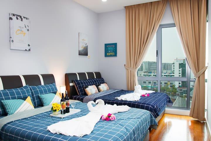 Imago Sea-View The Loft 7人两房一厅/海景公寓/성충은 전망이다 OML#1