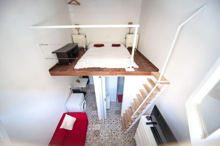 Unique small flatlet 2 minutes from the sea S0 - Tas-Sliema - Apartamento