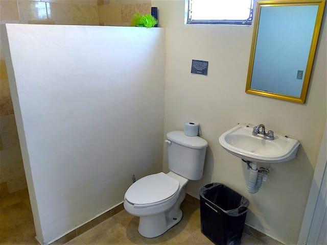Baños con todos los servicios