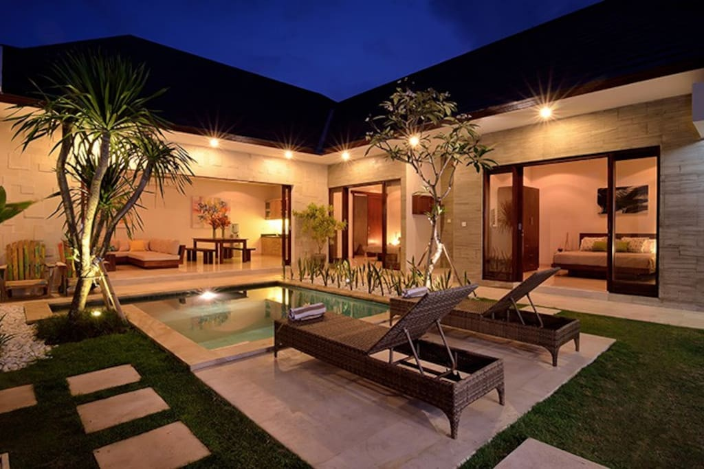Quiet, private, serene.  Share a romantic evening under the stars