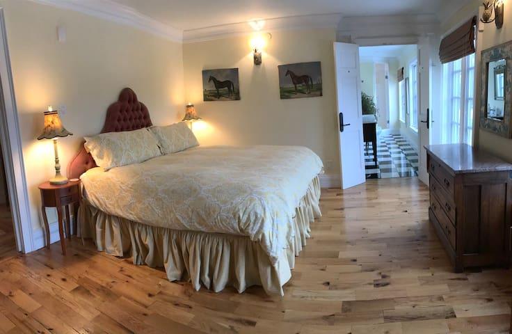 Fairyhouse Hall's Charleston Suite: Chef on site!